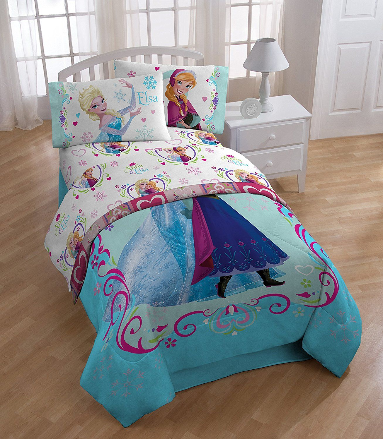 Frozen Floral Breeze Twin Sheet Set For Sale At Walmart Canada
