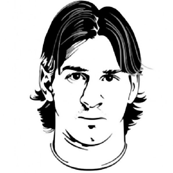 coloring page soccer lionel messi coloring pages pinterest