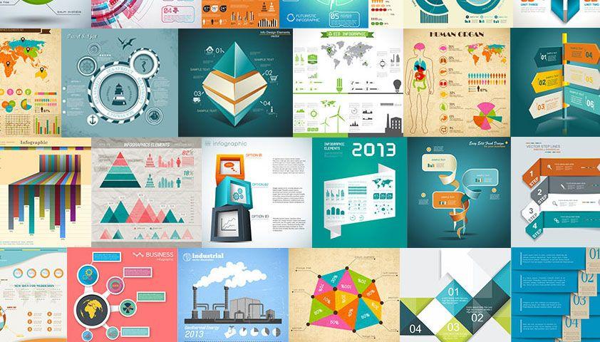 Deal of the week: 100 Premium Infographics from Ingimage | Webdesigner Depot