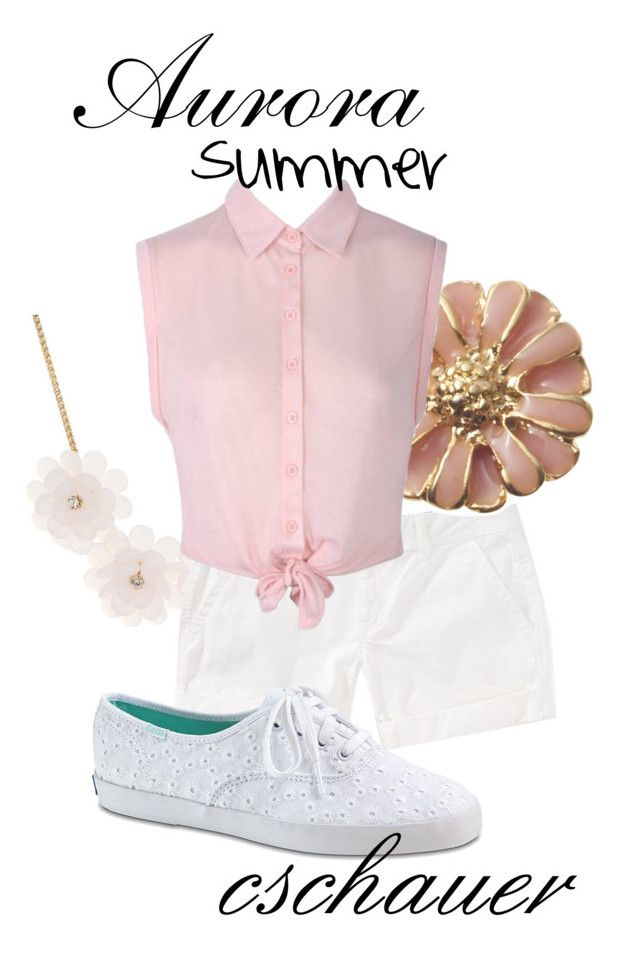 """""""Aurora: Summer"""" by cschauer ❤ liked on Polyvore featuring Jane Norman, Aéropostale and Keds"""