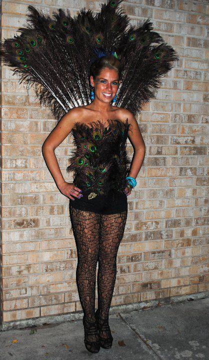 DIY Halloween Peacock Costume Diy peacock costume, Peacock