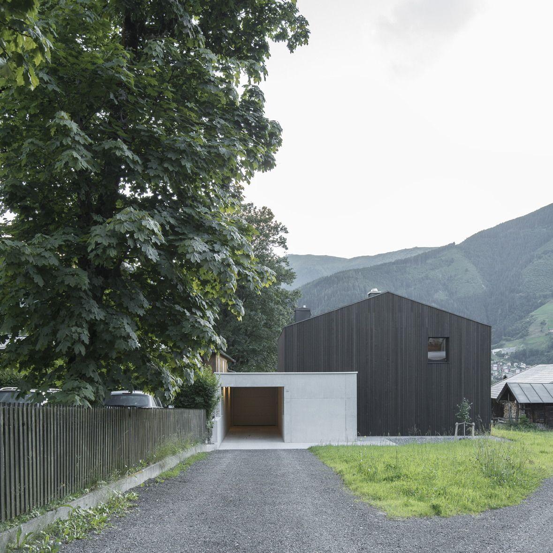 0088 Ferienhaus Haus Am See Lhvh Architekten: Umbau Eines Wohnhauses In Zell Am See