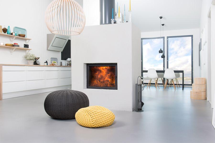 Vaaleanharmaa betonilattia <3   weber.floor CASA Designlattia - Tyylikäs ja ajaton ilme kotiisi