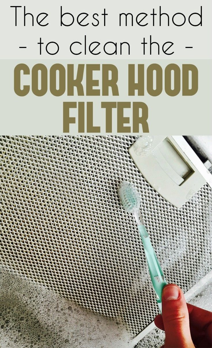 The Best Method To Clean The Cooker Hood Filter Cleaning