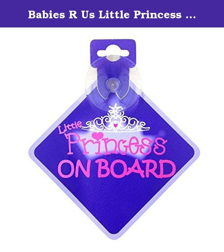 Child Gift 001 Princess Madeline On Board Personalised Girl Car Sign Baby