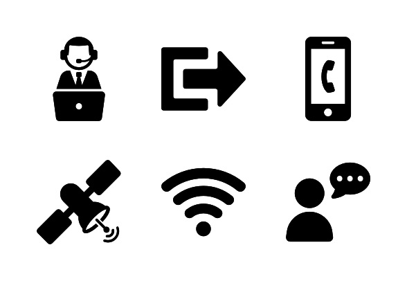 Communication Icons By Adrien Coquet Communication Icon Icon Computer Icon