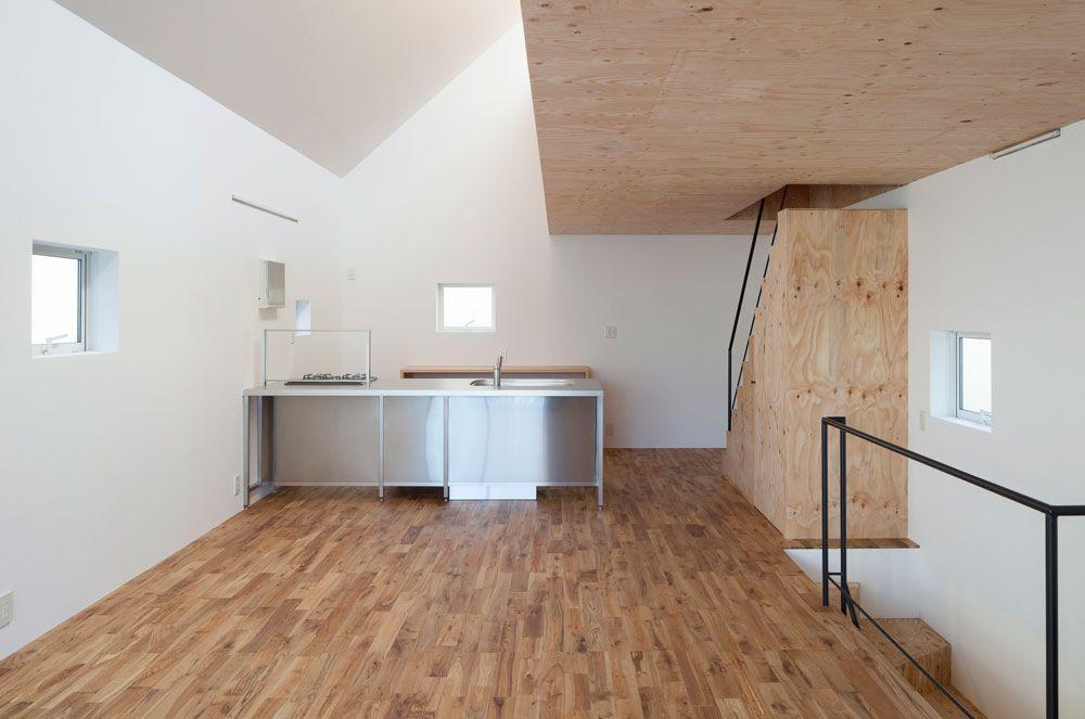 einfamilienhaus, tokio, kodaira, international royal architecture ... - Lichtband Küche