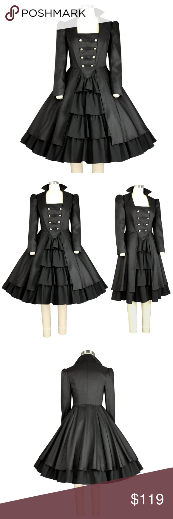 I just added this listing on poshmark new long sleeve ruffle dress
