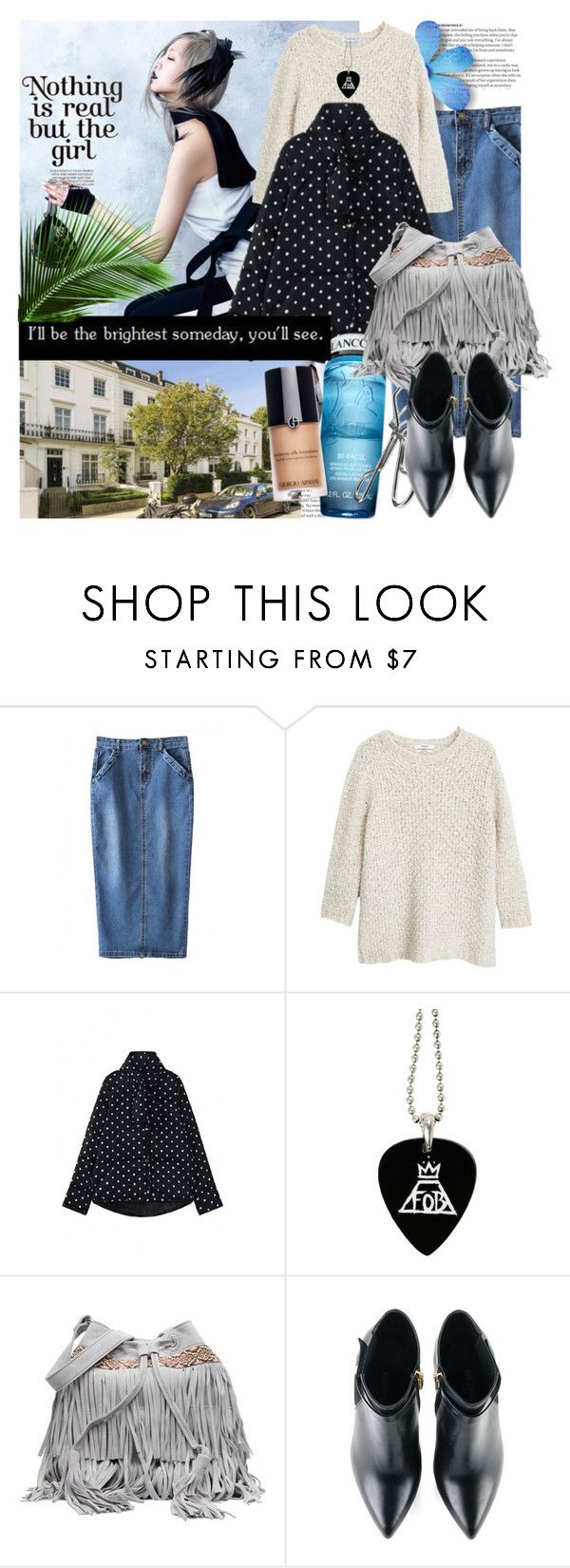 """""""#beautiful halo for you"""" by sweta-gupta ❤ liked on Polyvore featuring ASOS, MANGO and Kim Kwang"""