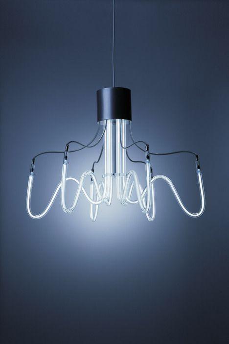 Neoline Lamps by Boa Design.