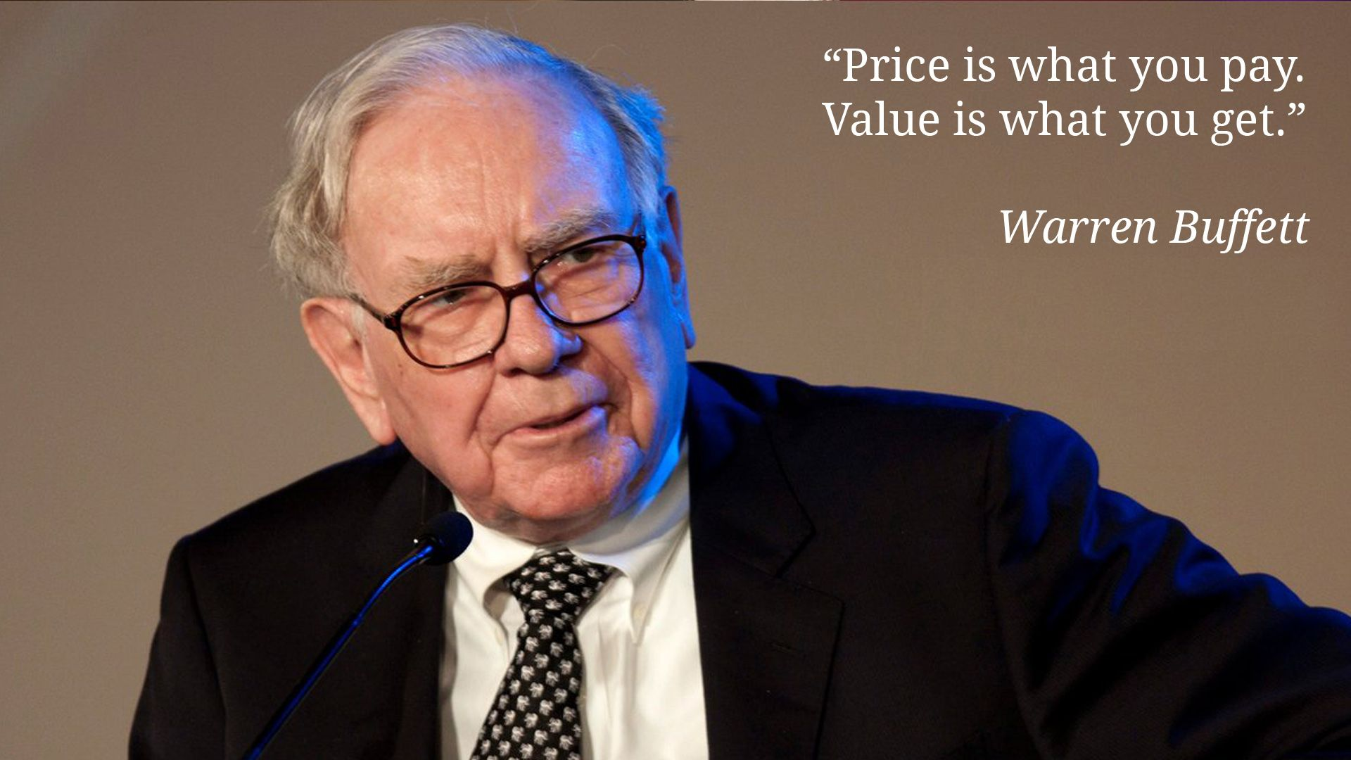 Price Is What You Pay Value Is What You Get Warren Buffett Warren Buffett Stock Market Investing Investment Advice