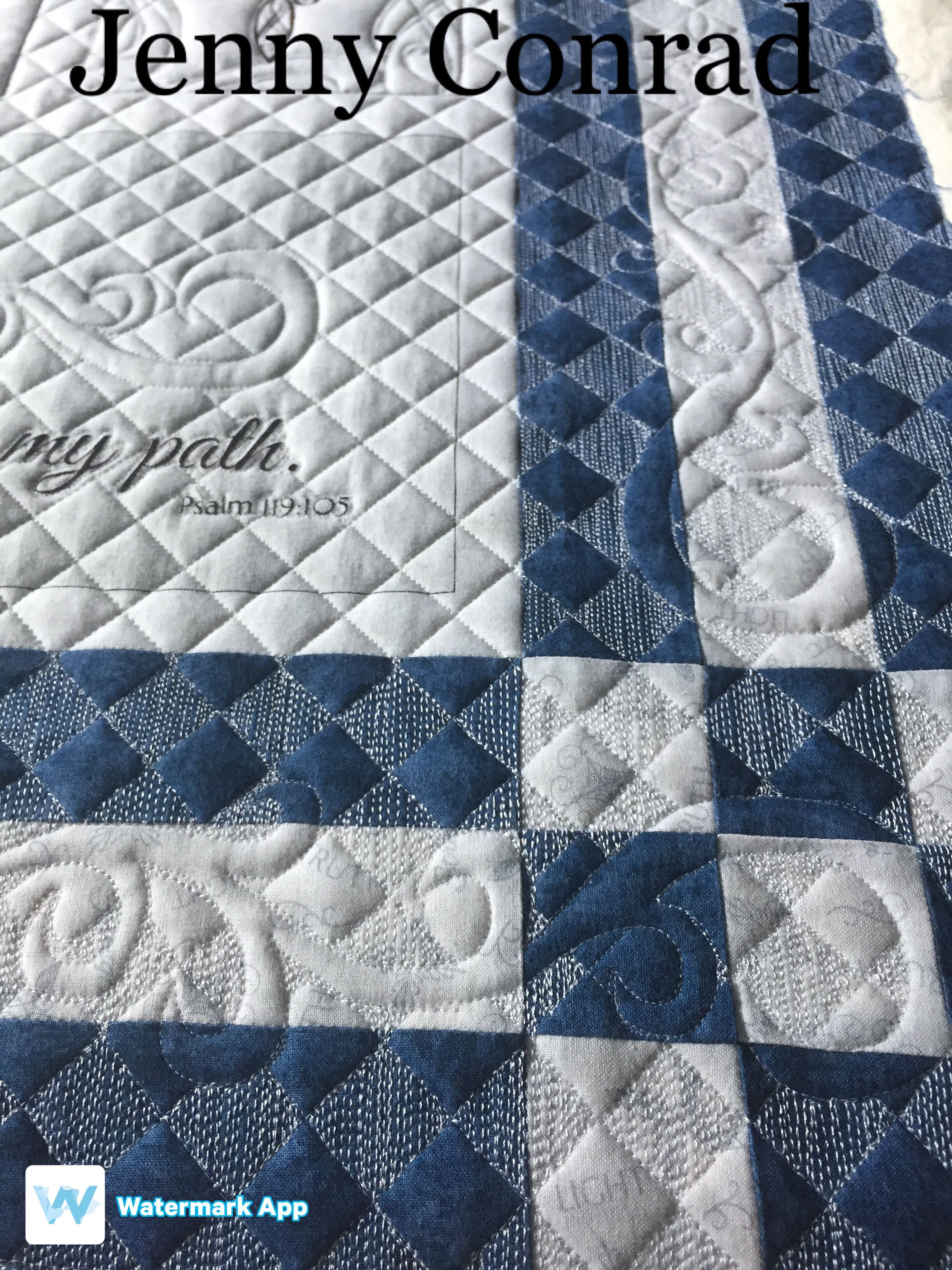 I used micro thread with this quilt. | Quilt ideas | Pinterest ...