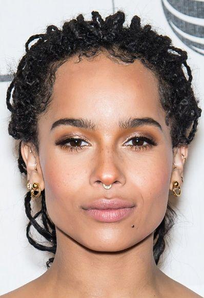 Zoe Kravitz Piercings: Important Update: The Week's Most Major Eyebrows