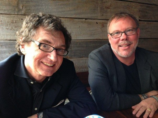 Walter De Brouwer, CEO and Alan Greene CMO Scanadu