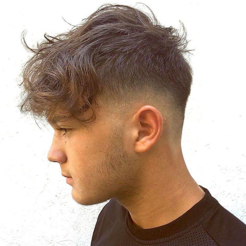 Verblassen Frisur Pony Neue Frisuren Herrenfrisuren Herrenschnitte Haarschnitt