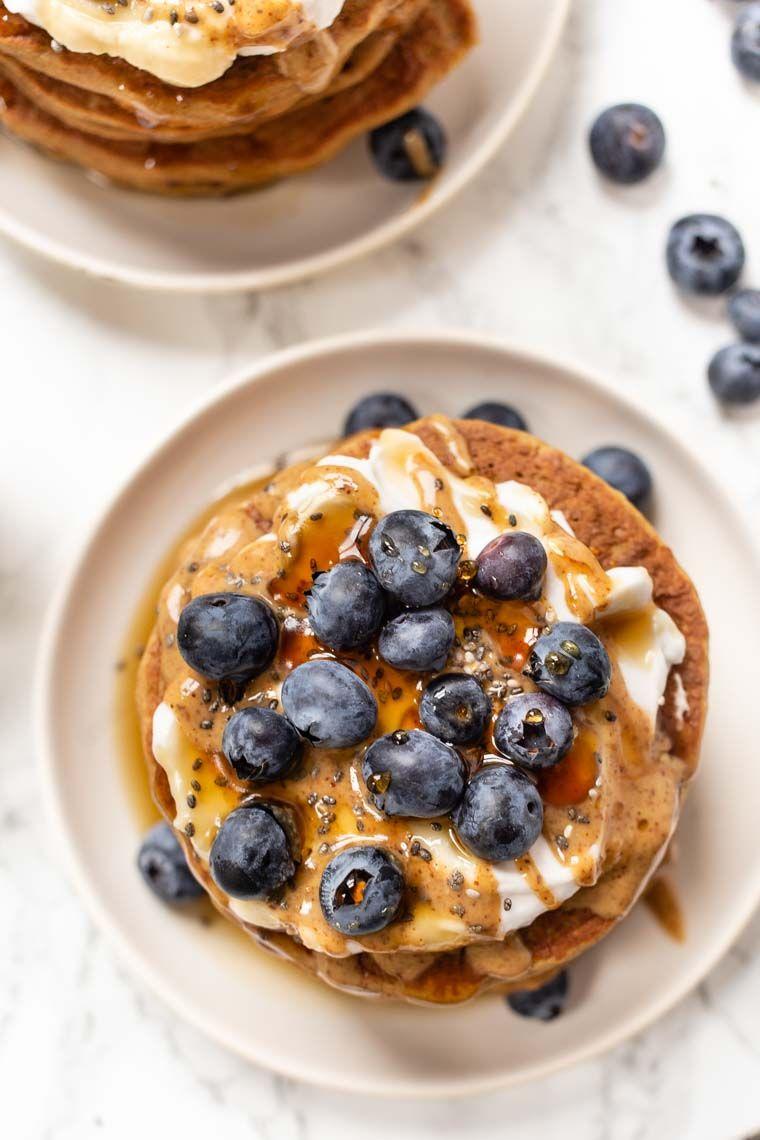 The Best Quinoa Flour Pancakes Vegan Gluten Free Simply Quinoa Recipe Gluten Free Recipes Easy Pancakes Quinoa Flour Pancakes