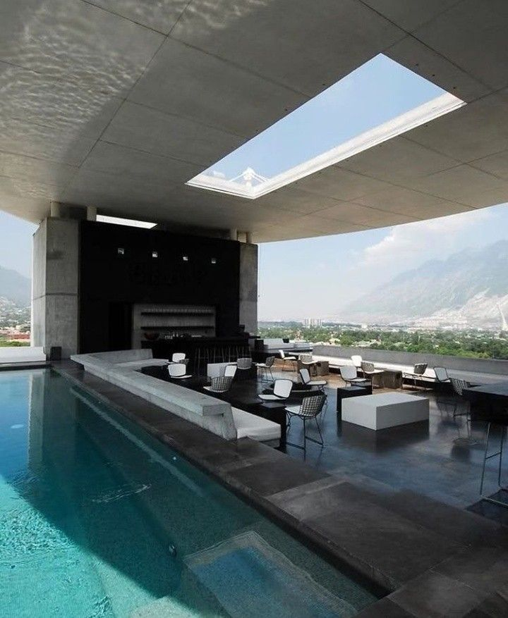 Swimming pool Casas Pinterest Swimming pools, House and Future