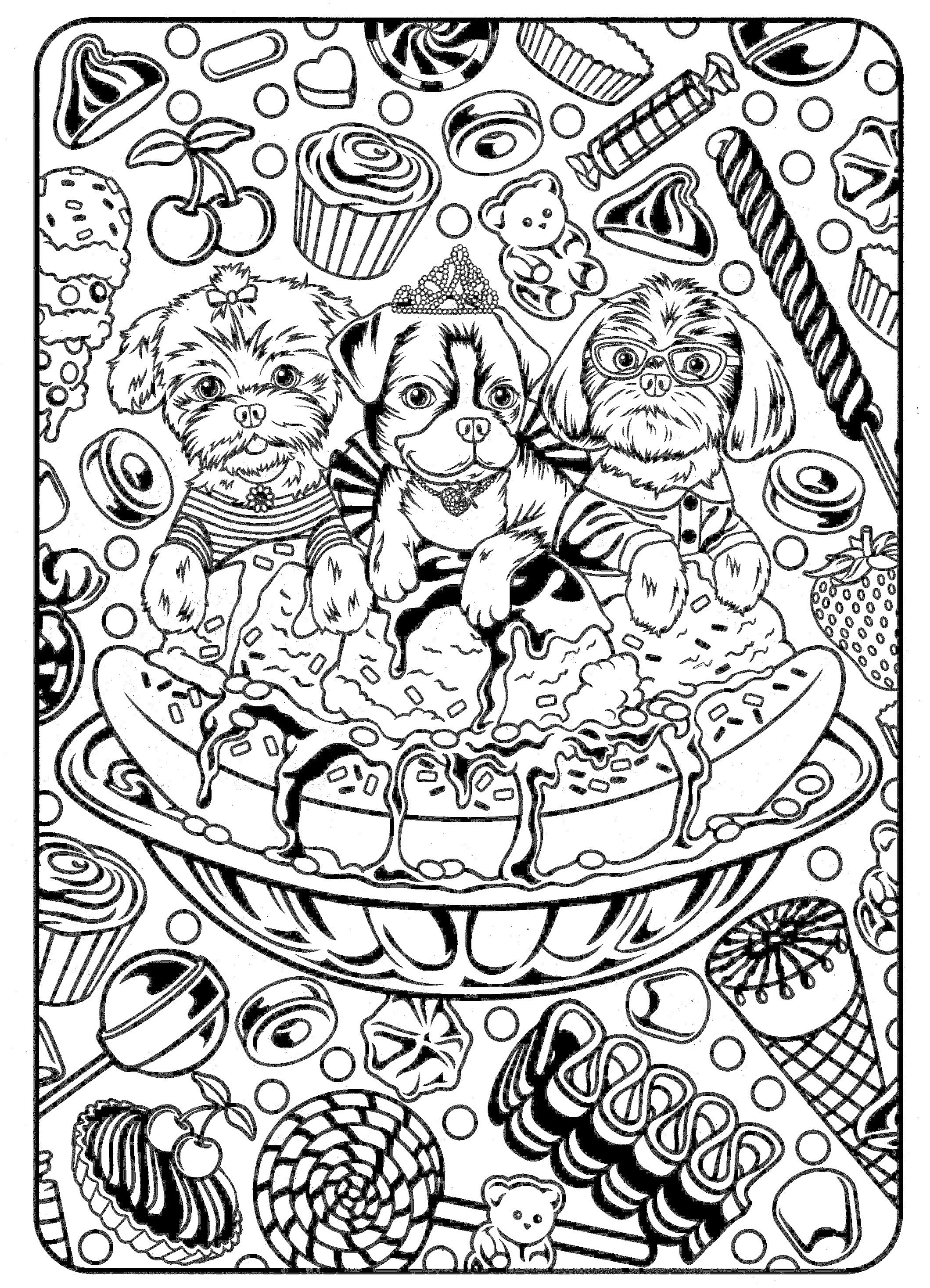 Funny Animals Coloring Page Cute Dog Coloring Pages Printable Free Cool Coloring Pages Summer Coloring Pages Pokemon Coloring Pages