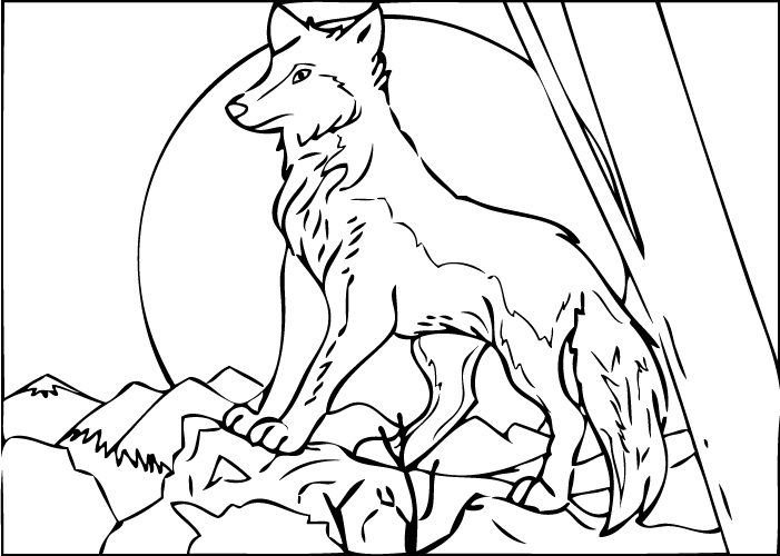 Roblox Wolf Games Coloring Page Wolf Colors Animal Coloring Pages Coloring Pages