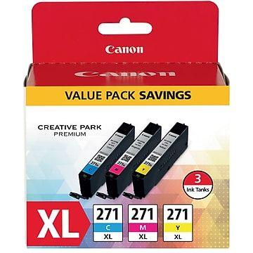 NEW Canon CLI-271XL 271 XL Yellow Ink Cartridge GENUINE