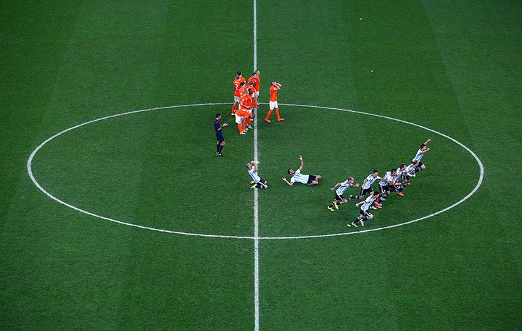 World Cup 2014 Holland v Argentina in pictures