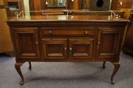 Alexander julian home colours handcrafted cherry credenza vtg