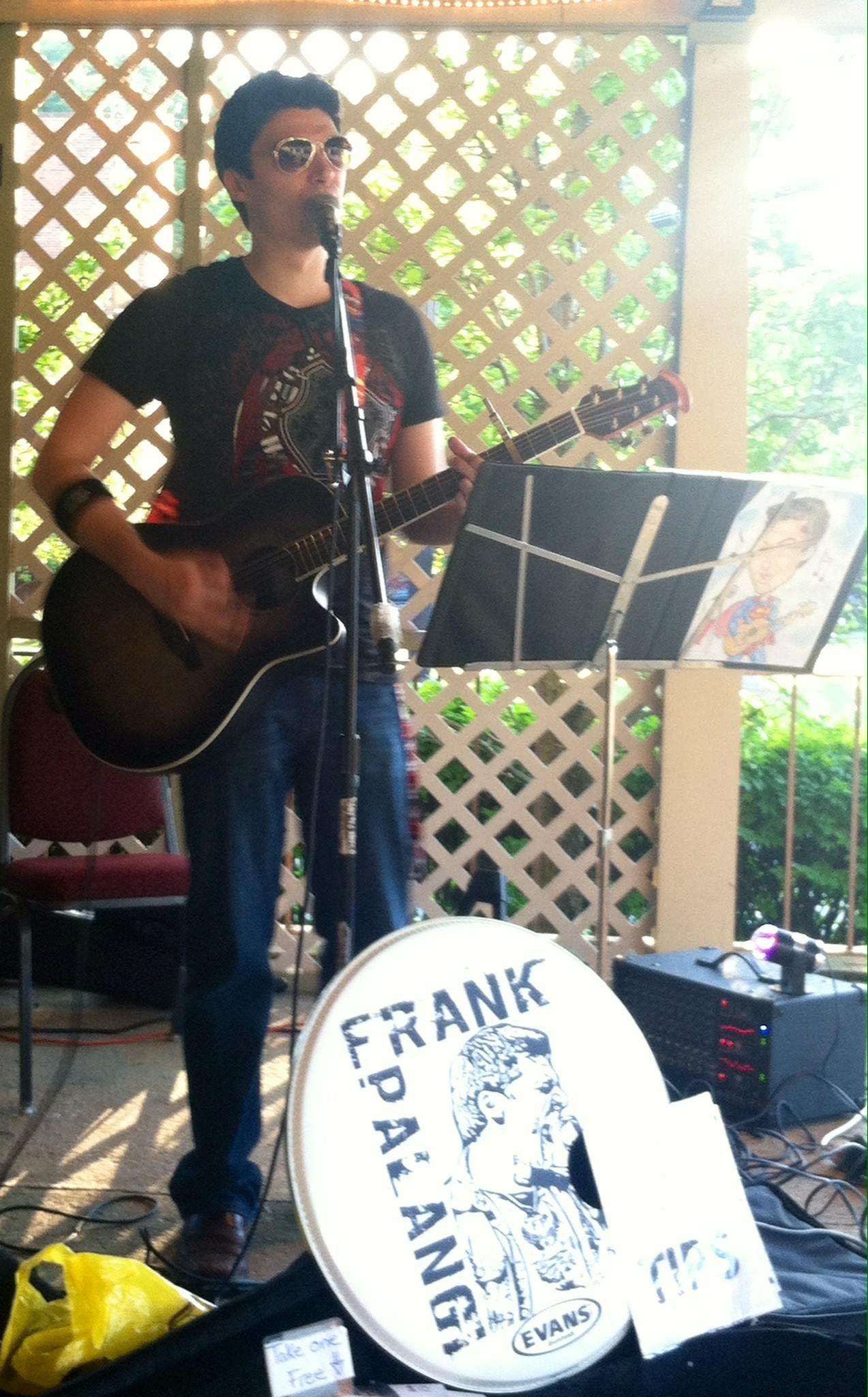 Richmond Grill in MA June 2016 \m/ www.frankpalangi.com - #gigs #acousticmusic #frankpalangi #livemusic #northadams