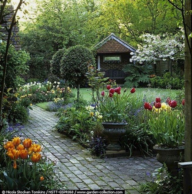Although The Original Purpose Of Creating Garden Pathway