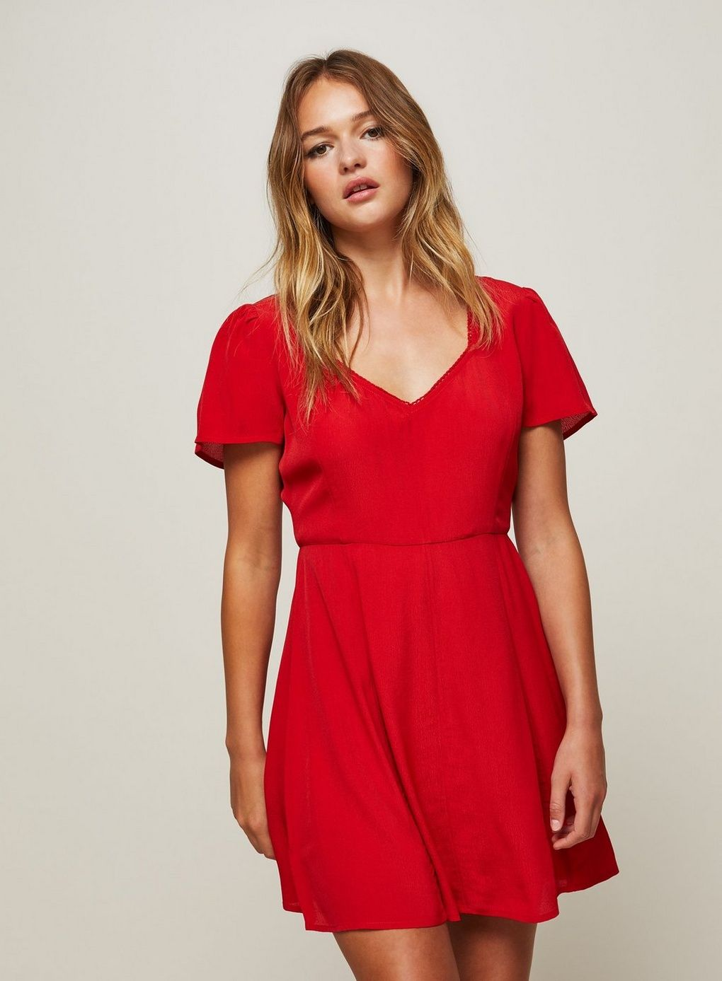 Red Skater Dress - Miss Selfridge US 00857f6b5
