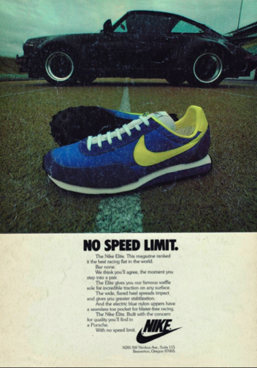 Vintage Nike Poster Cool Nike Poster Nike Ad Vintage Nike