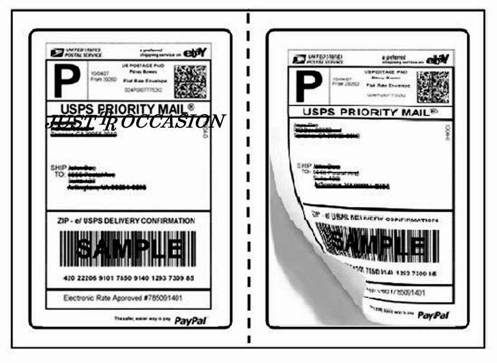 2000 Shipping Labels For Ebay Paypal USPS USP FedEx