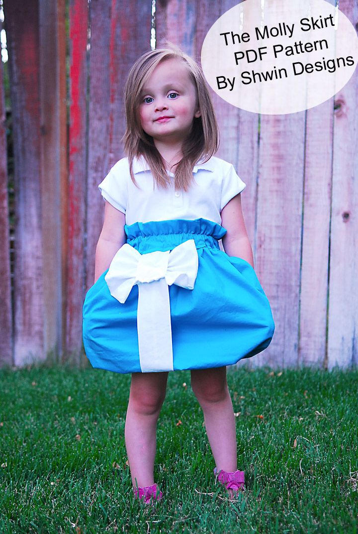 Shwin: The Molly Skirt {New Pattern}
