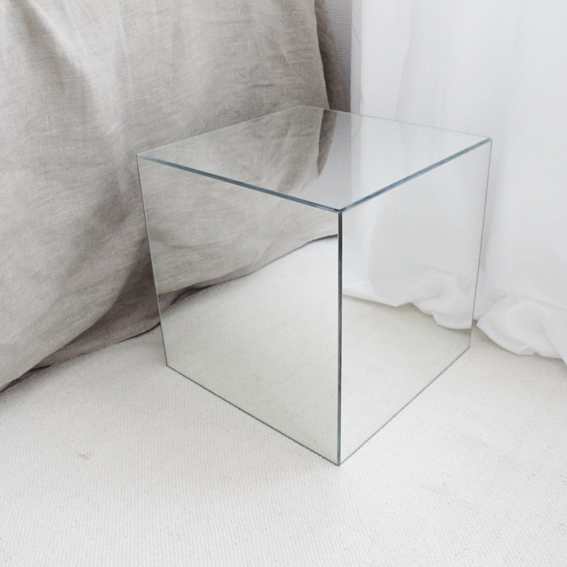 Diy Mirror Cube Using Ikea Lots Interior Diy Mirror Diy