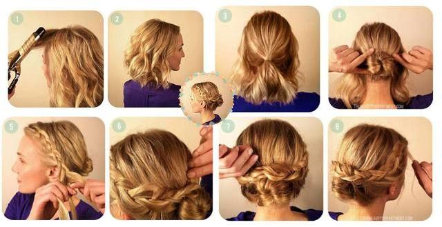 Acconciatura sposa e invitata  il tutorial capelli raccolti con treccia Acconciature  Per Il Matrimonio c4d99229ab70