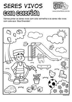 Resultado De Imagen Para Seres Vivos Y No Vivos Para Colorear Seres Vivos E Inertes Actividades De Reciclaje Para Niños Vivos Y No Vivos
