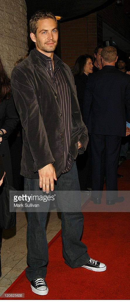 Paul Walker during 'Timeline' World Premiere - Red Carpet Arrivals at Mann's National Theatre in Westwood, California, United States.