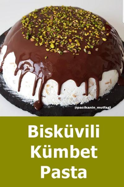 Bisküvili Kümbet Pasta #kuchenkekse