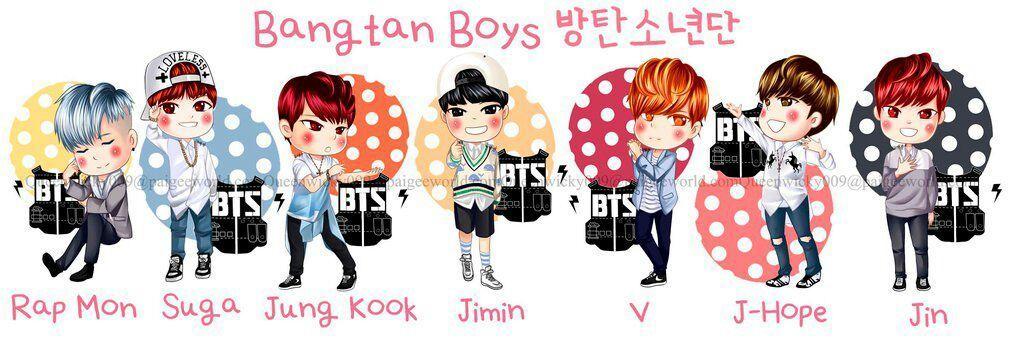 Boy Group Chibi Chibi Boy Groups Kpop