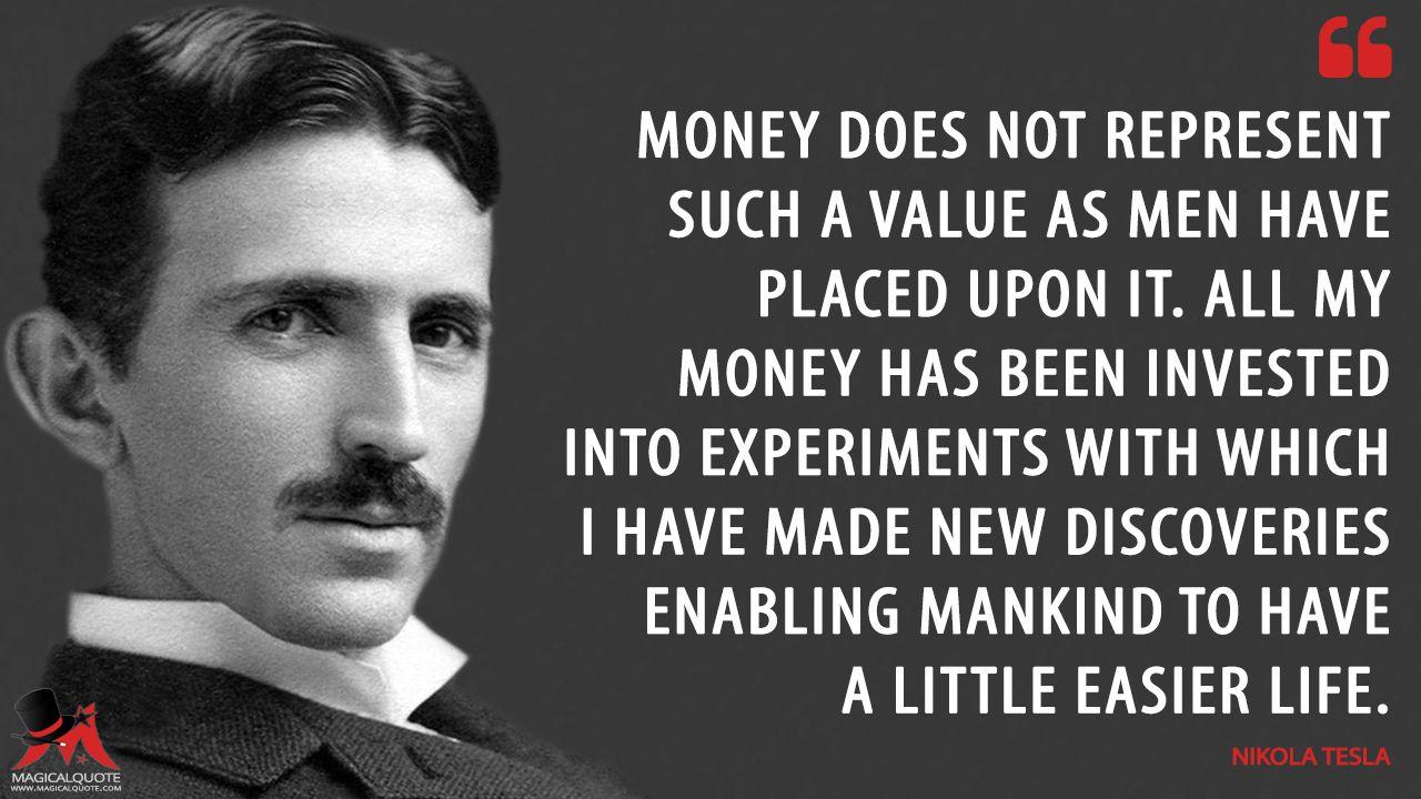 Nikola Tesla Quotes - MagicalQuote | Nikola tesla, Tesla quotes, Tesla