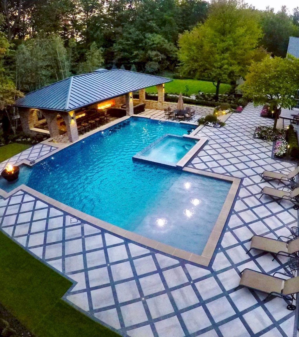 40+ Inexpensive Pool Design Ideas For Your Home #poolimgartenideen