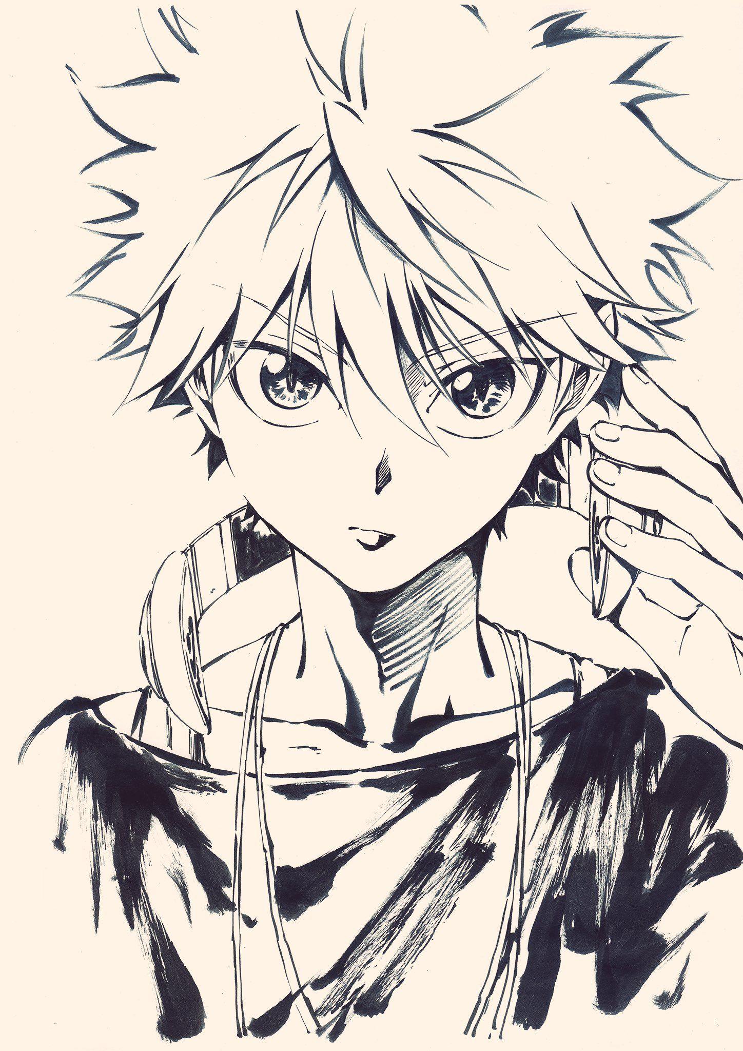 Niuya On Twitter Hunter Anime Hunter X Hunter Drawings
