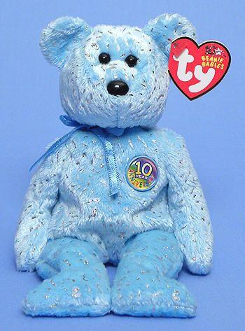 48991e8531c Decade (light blue) - Bear - Ty Beanie Babies