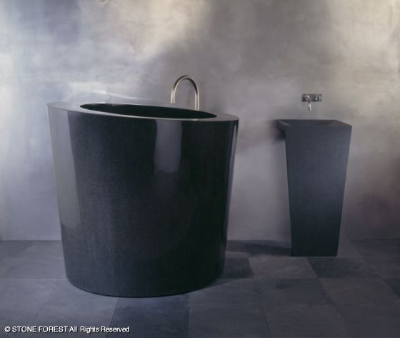 Stone Forest Bathtubs: Oval Soaking Tub