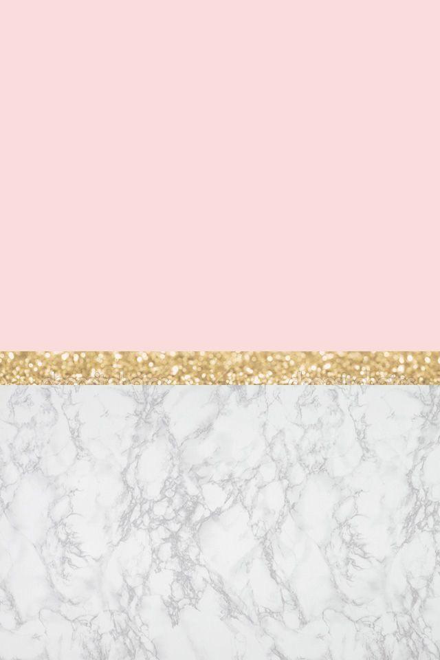 Wallpaper Pink Marble Gold Rose Gold Wallpaper Gold