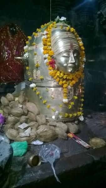 Shivling In The Historic Shiva Mandir In Udaipur