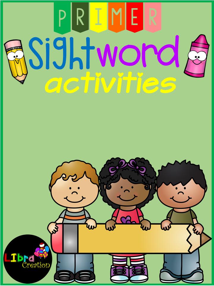 Sight Word Activities Primer | Kind
