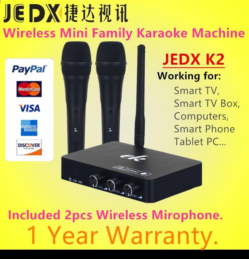 JEDX K2 Wireless Mini Family Home Karaoke Sistema de eco