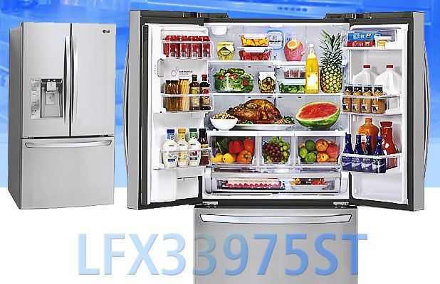 Lg Lfx33975st French Door Refrigerator Review Of The Biggest Fridge