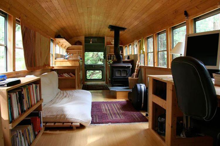 1978 international bus 10 grandiose vintage busse nach ihrem umbau zum wohnmobil living van. Black Bedroom Furniture Sets. Home Design Ideas