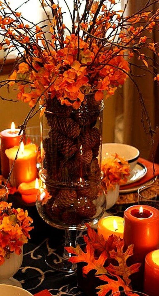 Beautiful DIY Thanksgiving Table Setting Design (02 #thanksgivingtablesettings